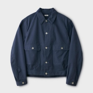 Phigvel Canvas Short Blouson French Navy