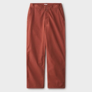 Phigvel Canvas Painter Trousers Russet