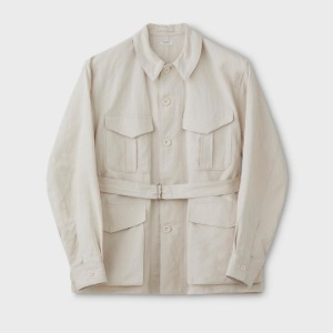 Phigvel C/L Tropical Jacket Smoke Ivory