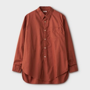 Phigvel Long Dress Shirt Russet